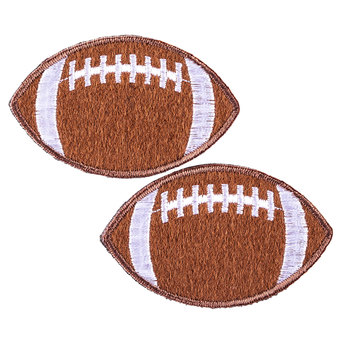 Football Iron-On Appliques
